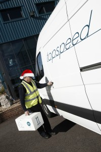 Emergency service over Christmas 2014 at Topspeed Couriers