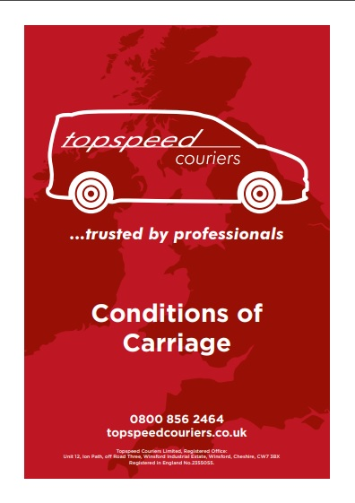 Topspeed Conditions of Carriage