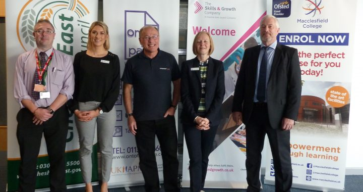 Dave Turner Topspeed speaks at Cheshire East Skills & Growth