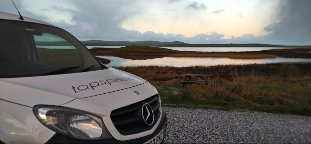 Topspeed Couriers Isle of Flotta