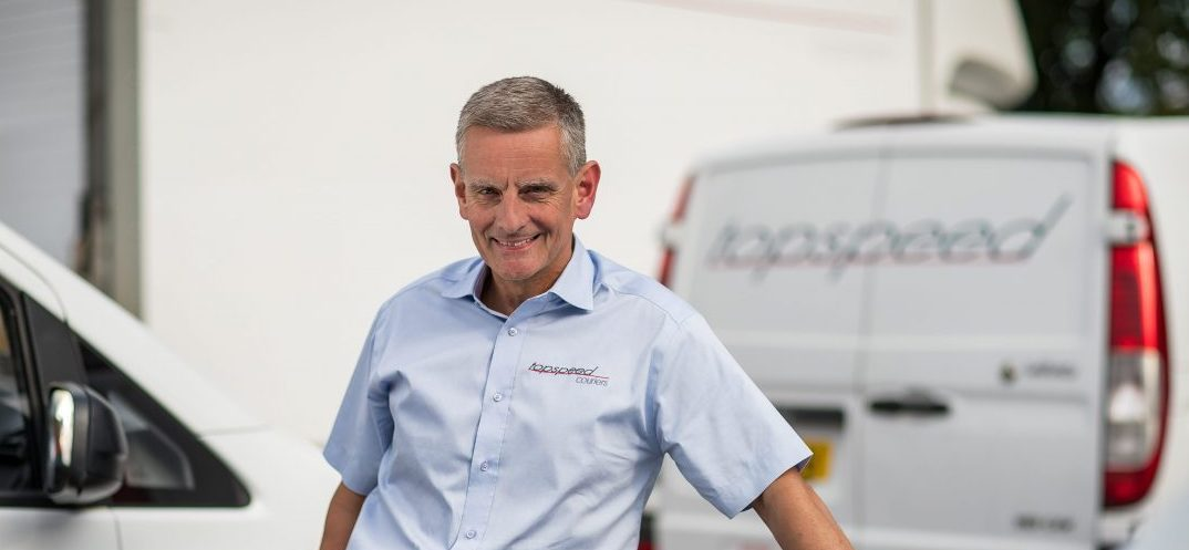Steve Clegg Dangerous Goods specialist Topspeed Couriers